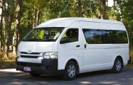Driver Guide and Toyota HiAce – 11 Seats
