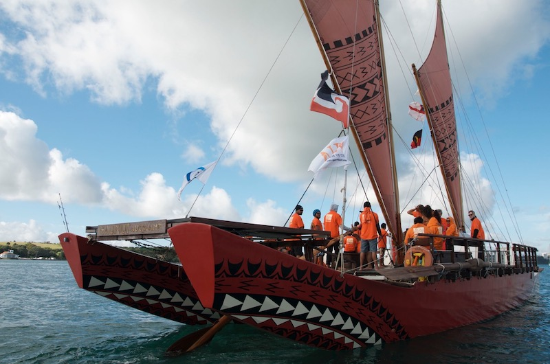 Waka on Waitemata Tour