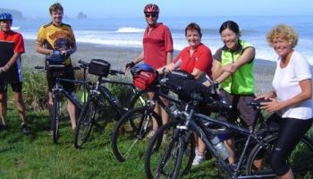 6 Day West Coast and Glaciers Cycle