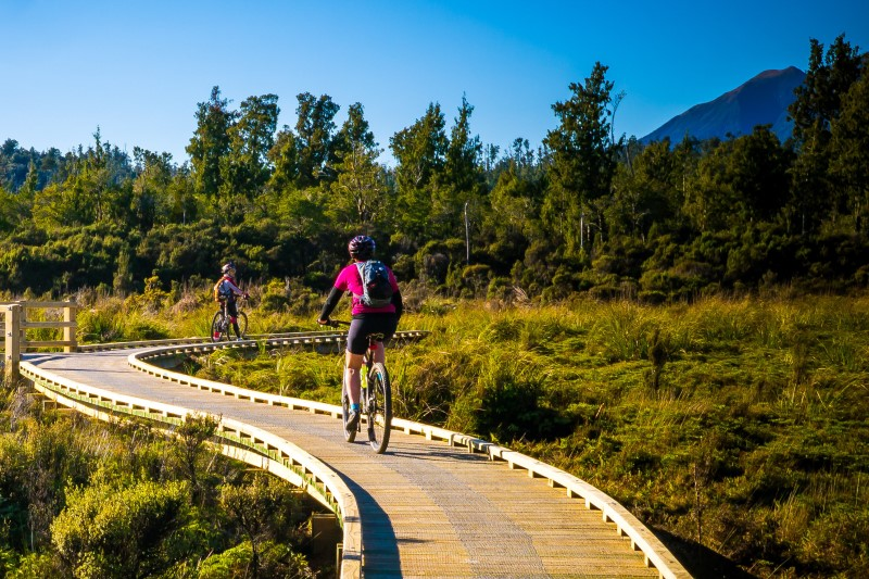 5 Day West Coast Wilderness Cycle Trail