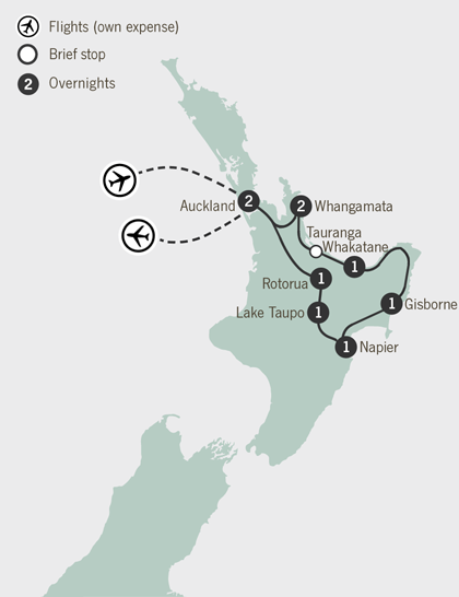 10 Day New Zealand Thermal Circuit Self Drive Go New Zealand