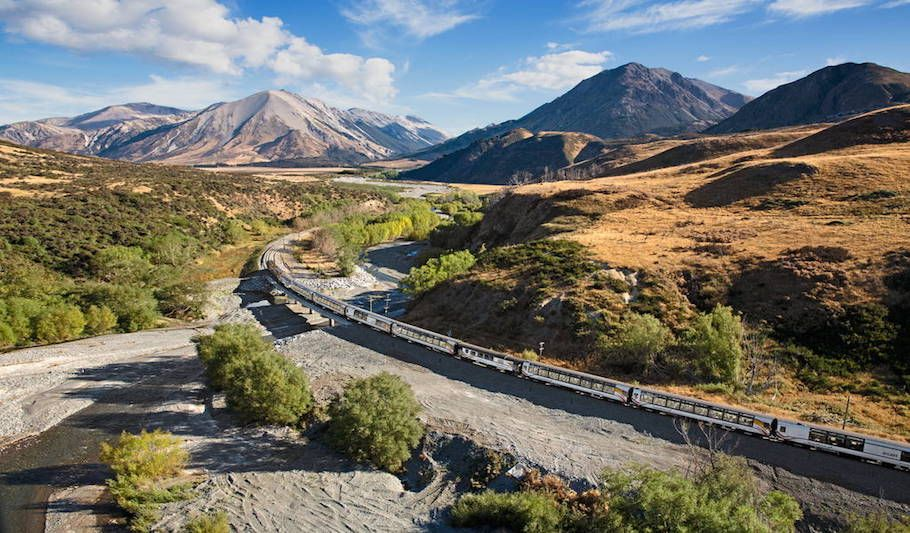 TranzAlpine Train - Greymouth - Punakaiki