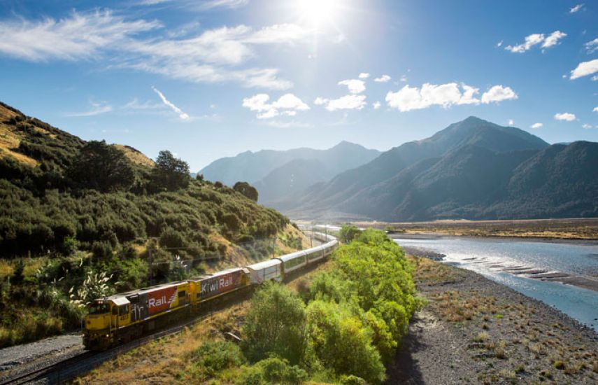 Franz Josef to Greymouth - TranzAlpine Train to Christchurch