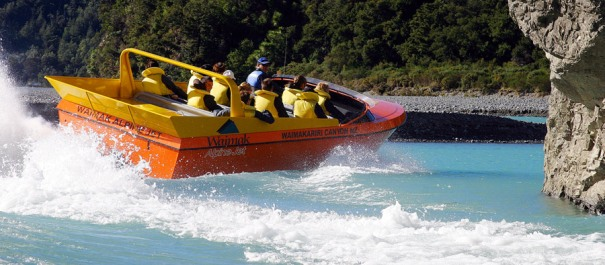 4WD Jetboat Adventure Half Day Tour