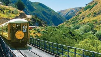 Full Day Taieri Gorge Railway Tour