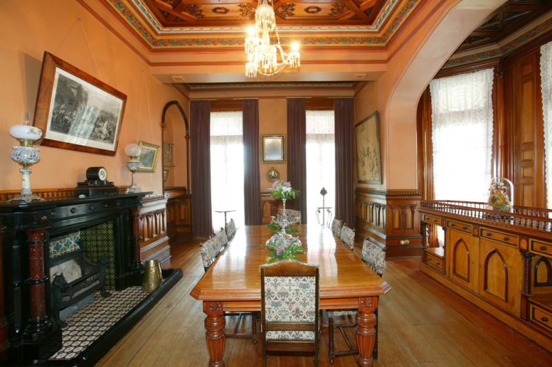 Larnach Castle Dining Room