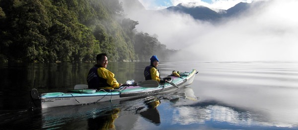 Doubtful Sound Overnighter Sea Kayaking