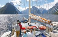 Milford Sound Coach, Nature Cruise and Fly back