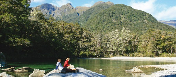 Milford Track Taster with Sea Kayaking