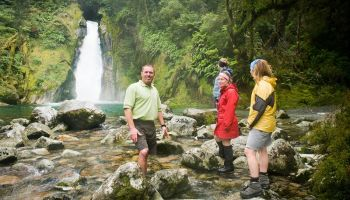 Milford Track Guided Walk & Scenic Cruise from Milford