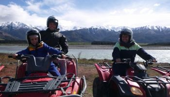 Hanmer Springs Quad Bikes Twin Seater