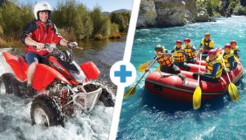Double Dare: Raft, Quad Bike