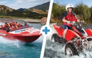 Double Dare: Jetboat, Twin-Seat Quad Bike for Two