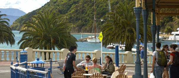 Lunch in Picton