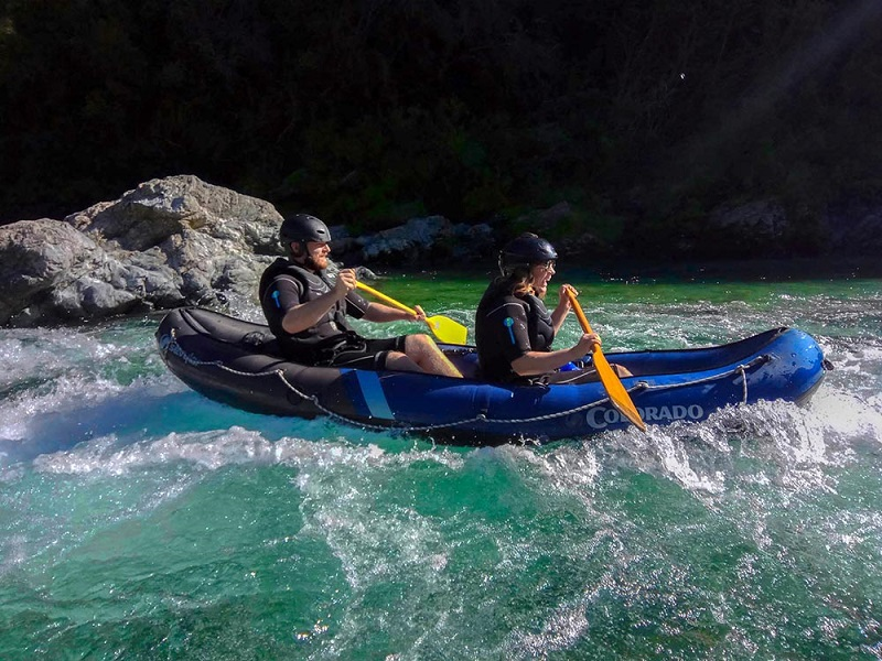 Pelorus River Hobbit Barrel Run Kayak Tour