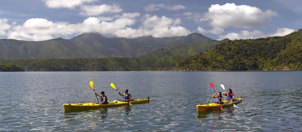 4 Day Queen Charlotte Track Kayak and Trek