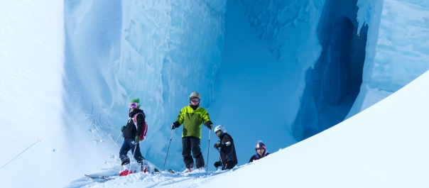 Heliski/Ski the Tasman