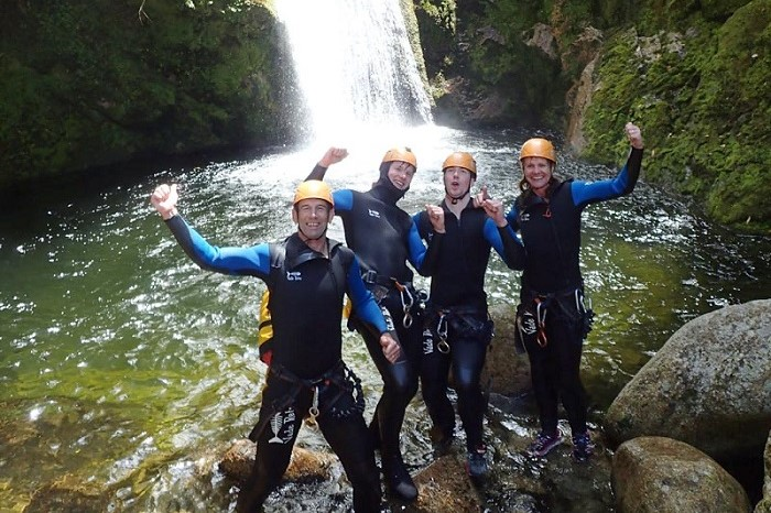 Waterfall Creek Canyoning - Abel Tasman National Park