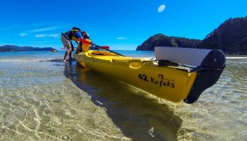 2 Day Abel Tasman Remote Coast Overnighter Kayak & Walk
