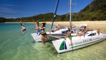 Exclusive Full Day Abel Tasman Sailing Catamaran - Turissimo
