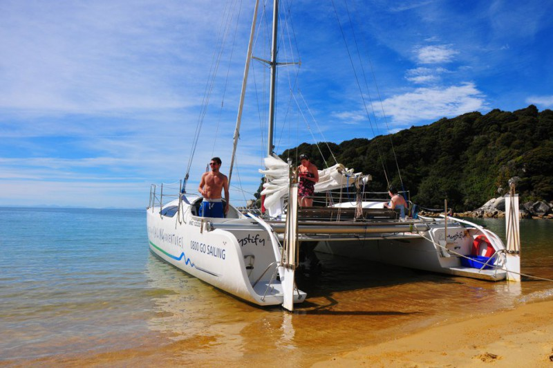 Abel Tasman Cruise Walk and Sail Adventure