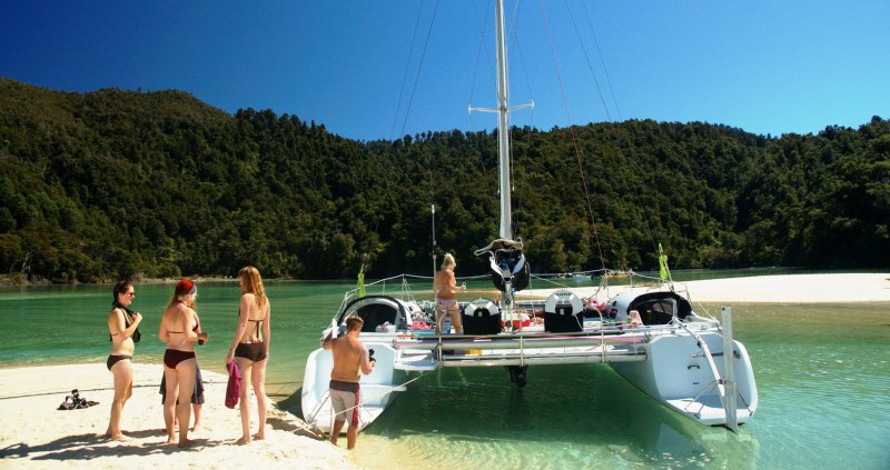 Abel Tasman Walk, Seals and Sail