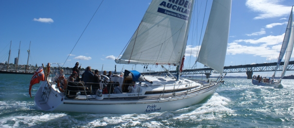 Pride of Auckland Harbour Sailing Cruise
