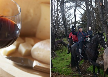 Ultimate Overnight Horse and Wine Experience