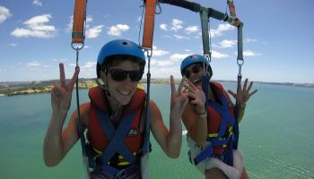 Tandem Bay of Islands Parasail Flight