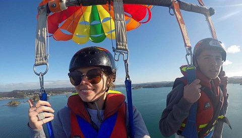 Tandem/Triple Parasail Flights 1200ft Early Bird Special
