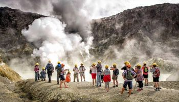 White Island Volcano Experience Cruise & Guided Exploration from Tauranga