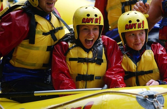White Water Rafting with Optional Adventure Packages Shore Excursion from Tauranga