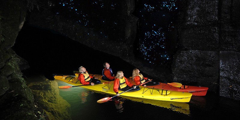 Waimarino Evening Glow Worm Kayak Tour