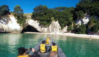 Cathedral Cove Makin' Memories Boat Tour (90 minute)