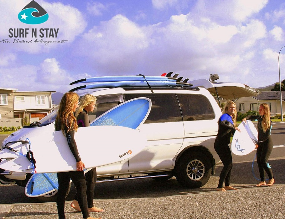 4 Days Coromandel Surf n Stay Package