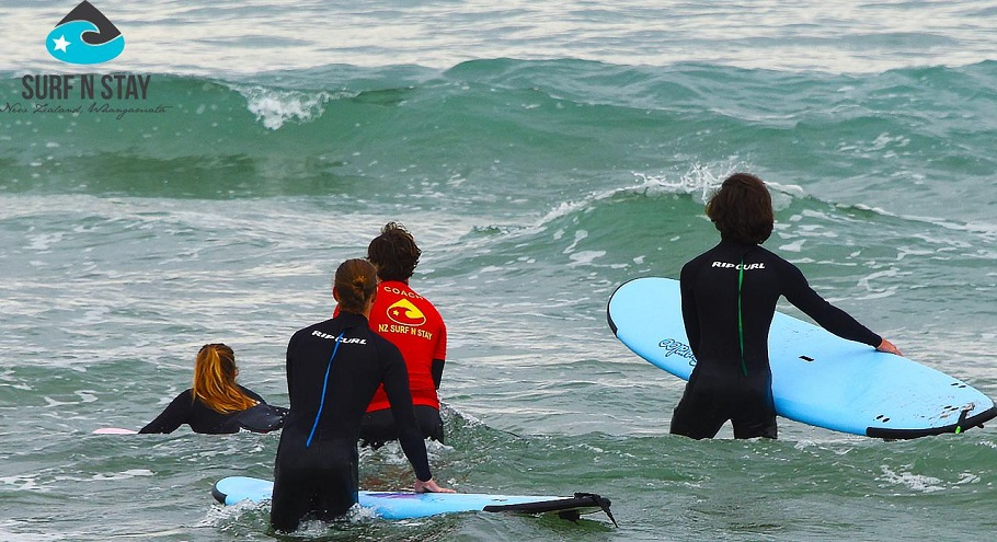 4 Days Coromandel Learn to Surf Package