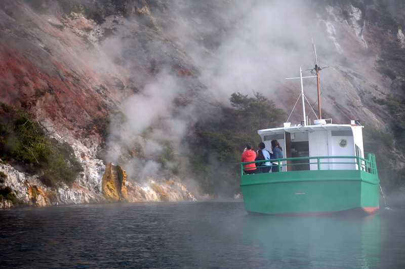 Geothermal Wonderland Tour and Boat Cruise