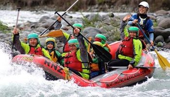 Tongariro Family Rafting Fun