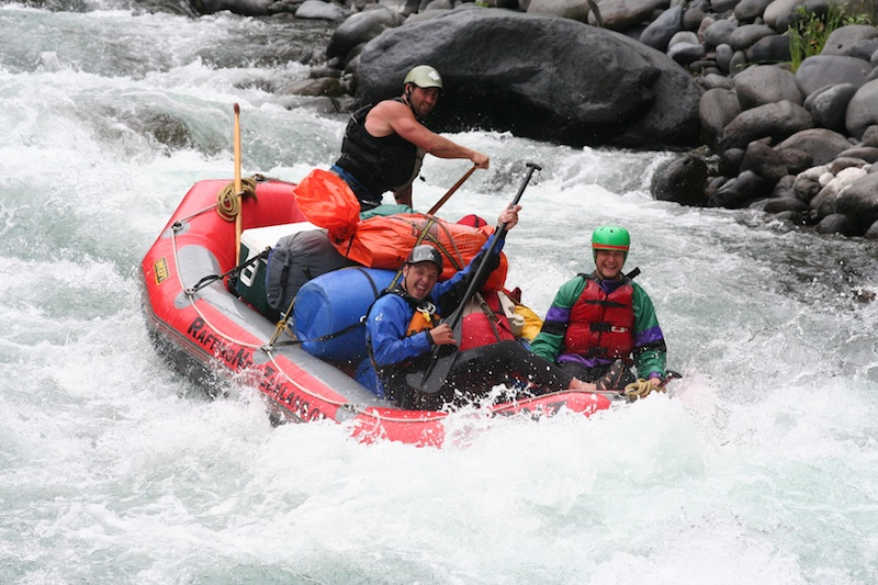 Tongariro Overnighter River Rafting Expedition