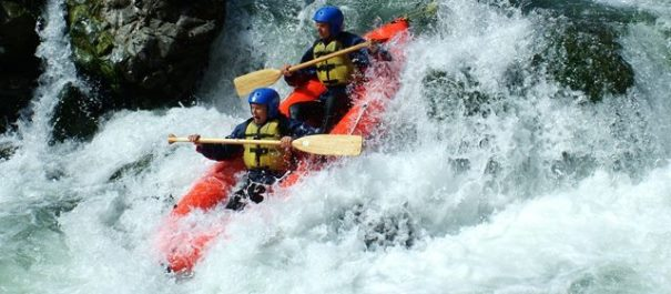 Rocks and Rapids Inflatable Kayaking - Half Day