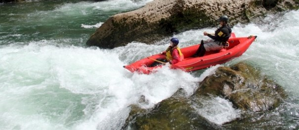 Fun Inflatable Kayaking Family River Trip - 1 Day
