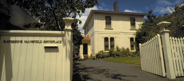 Katharine Mansfield birthplace Wellington