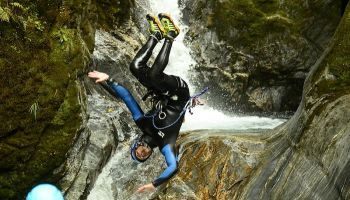 Mt Aspiring Full Day Canyoning from Wanaka