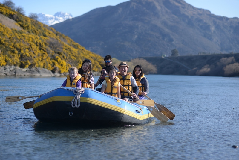 Flow Fun Canoes and Rafts Queenstown