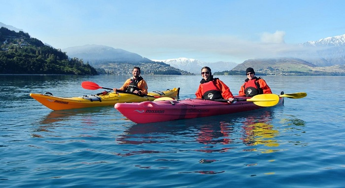 Private Queenstown Guided Kayak Tour