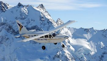 Grand Traverse Scenic Flight of Mt Cook & Glaciers - Lake Tekapo