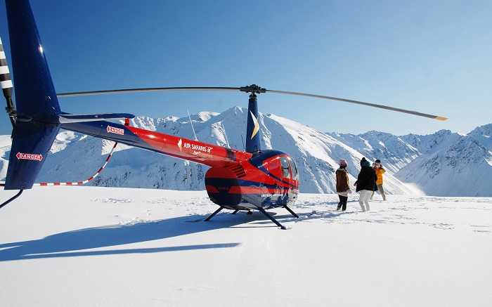 Mount Cook Franz & Fox Magic Helicopter Flight - includes Snow Landing (1hr)