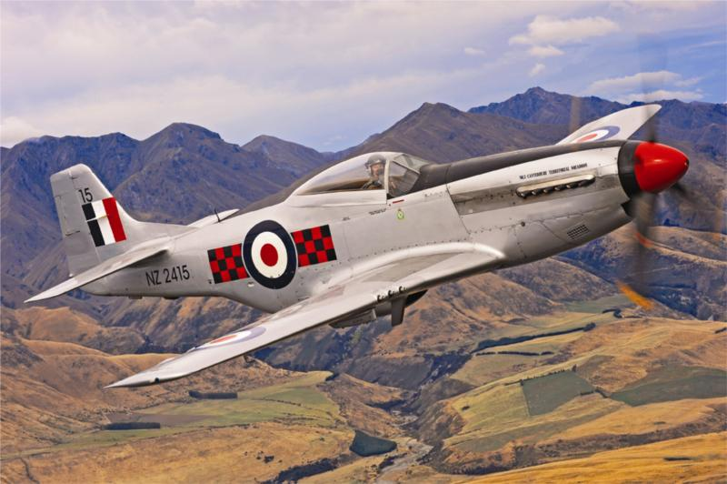 7 Day Warbirds Over Wanaka Coach Tour