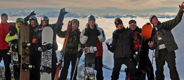 Group Ski/Snowboard Tours