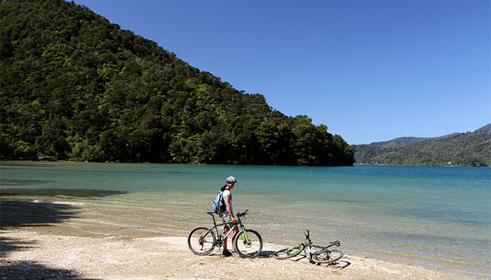 3 Day Queen Charlotte Track Upgrade Hike Bike Combo